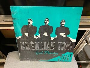 Alkaline Trio Past Live Good Mourning LP TURQUOISE colored vinyl SEALED NEW