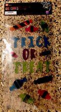 Halloween Gel Window Clings Trick Or Treat Candy Clings Fall Harvest Turkey