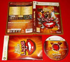 LIPS PARTY CLASSICS XBOX 360 Versione Italiana 1ª Edizione ○ COMPLETO - FG