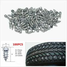100x 15mm Ice Road Car Truck Tire Anti-Slip Stud Spikes Winter Tire Accessories