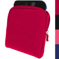 Maletas, fundas y bolsas rojos rígidos para consolas y videojuegos