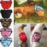Female Dog Pants Bitch Season Hygiene Menstrual Sanitary Nappy Diaper S M L XL