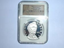 2009-P $1 Lincoln Bicentennial Silver Dollar Coin NGC PF 69 UC