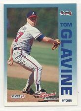 1992 Fleer 7-11/Citgo Performers - #20 - Tom Glavine - Atlanta Braves