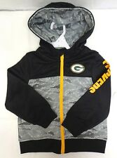 Green Bay Packers Boys Pixel Camo Jacket Sweater Baby Toddlers
