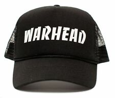 New Warhead Curved Cloth Cap Hat Black Solid Dime Bag Darrell Pantera