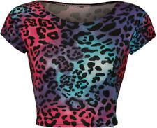 Leopard Crop Tops for Women