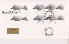 GB Royal Mail FDC Cubierta 1999 Milenio cronómetro del Greenwich PMK Pegatina