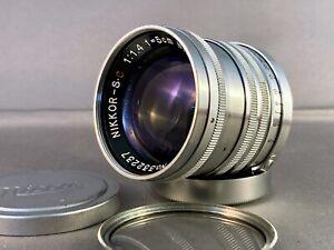 Nikon Nikkor S.C. 5cm 50mm f/1.4 Lens Nippon Kogaku Japan LTM M39