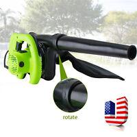 Electric Super Leaf Blower Yard Lawn Mulcher Vacuum Shredder 650W US Plug UPS