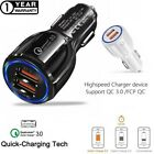 Fast Car Charger, 30W Qualcomm QC3.0 Certified 2 USB Port For Iphone,Samsung,LG