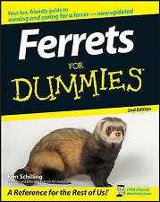 NEW Ferrets For Dummies by Kim Schilling