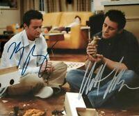 Matt Leblanc / Matthew Perry Autographed Signed 8x10 Photo ( Friends ) REPRINT
