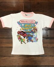 Vintage Nintendo 1990 World Championships Original Licensed T-Shirt / Shirt