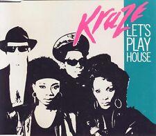 KRAZE - Let's play house 4TR CDM 1989 HOUSE