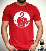 Scarface T shirt Hello To My Little Friend Retro Movie Tee New Adult Men S - XXL