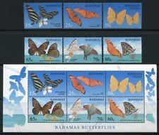 Bahamas 2008 Schmetterlinge Butterflies Papillon 1311-1316 Block 111 MNH