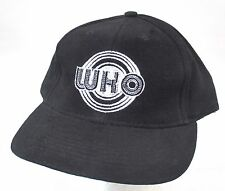 THE WHO EMBROIDERED MOD CIRCLE BLACK BASEBALL HAT CAP NEW OFFICIAL BAND