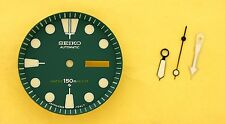 NEW SEIKO GREEN DIAL HANDS MINUTE TRACK SET FOR SEIKO 6309 7040 WATCH NR#135