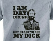 RAFI DAY DRUNK SEE DICK T-Shirt - Mens/Unisex -14 color options- the league