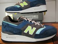 New Balance 997 $210 Blue Green Grey Suede 3M 8.5 M997PAC Made in USA concepts