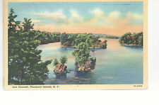 Lost Channel  Thousand Islands  NY   Mailed 1942  Postcard 784