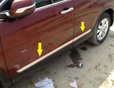 Side door Body molding chrome TRIM For HONDA CRV CR-V 2012 - 2015