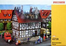 Vollmer 43728 ( 3728 ) H0 - Brennendes Haus NEU & OvP