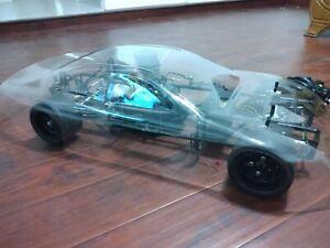 1/4 scale wcm NASCAR 26cc gas engine