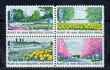 1365-1368 * Beautification * U.S. Block Of 4 Mnh