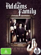 THE ADDAMS FAMILY 1-2 (1964-1966): COMPLETE Adams TV SERIES - NEW Aust Rg4 DVD