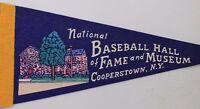 National Baseball Hall of Fame and Museum Small Pennant MLB Memorabilia
