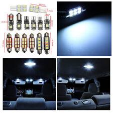 14Pcs White LED Bulb Car Plate Interior Dome Light License Plate Reading Lights