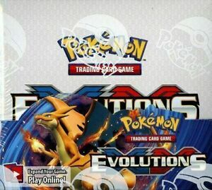 POKEMON XY EVOLUTIONS BOOSTER PACK SEALED - 1 Random Pack from newly opened box
