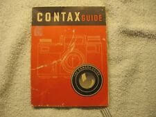 Contax Guide (Free Shipping)*