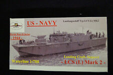 HP MODELS 1:700 WL US-Navy Landing Craft, di supporto LCS (L) Mark 2 - 1:700