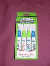 BNIP Skylanders Swap Force Brush Buddies soft toothbrush 3 pack in EC