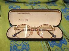 Vintage Men's Giorgio Armani Eyeglasses in Original Case