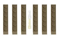 6x LEGO ® 3009 1x6 blocco predefinito Scuro Beige Nuovo Dark Tan Brick