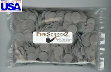 """1000 5/8"""" (.625"""") Stainless Steel Pipe Screens PIPESCREENZ™ - QUALITY - USA MADE"""