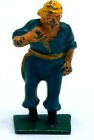 Vintage Manoil Barclay Lead Pirate Figurine - Pirate with Knife or Dagger