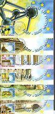 Vatican City Sc# 1358-63: Treaty of Rome, 6 Maxi Cards