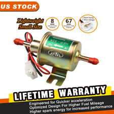 Electric Fuel Pump 2.5-4 PSI 5/16 inch Inlet & Outlet 12V for Carburetor HEP-02A