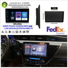 "9"" 4-core 2Din Android9.1 2GB+32GB Car Stereo Radio GPS Player Wifi 3G 4G BT -US"