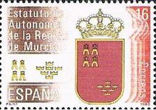 ESPAÑA 1983. Estatuto de autonomía de Murcia. Edifil 2690
