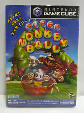 NINTENDO GAMECUBE SUPER MONKEY BALL JAP JAPAN GC NTSC COMPLETO