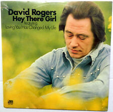 DAVID ROGERS hey there girl SEALED  LP Atlantic SD 7306