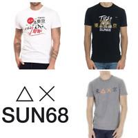 T SHIRT Sushi Sun68 Uomo con Sun68 Maglietta T29120 Maglia Manica corta