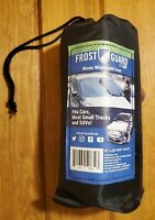 FrostGuard Go Portable Winter Windshield Cover with Travel Storage Pouch