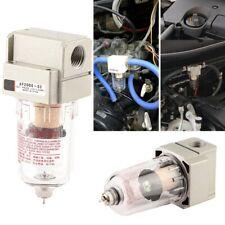Universal Car Engine Oil Separator Catch Reservoir Can Oil Filter Baffled Kit US